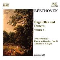 Bagatelles & Dances 3 by BEETHOVEN (2001-04-17)