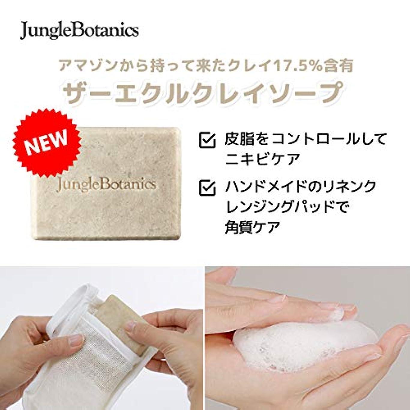 嵐の音声学フルート[JUNGLE BOTANICS] ザーエクルクレイソープ110g, [JUNGLE BOTANICS] The Ecru Clay Soap 110g [並行輸入品] …