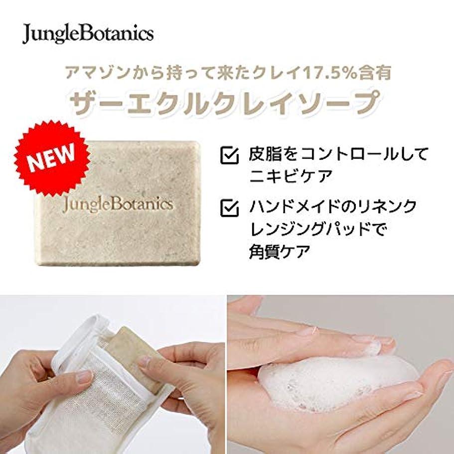 簡潔なソーシャルずっと[JUNGLE BOTANICS] ザーエクルクレイソープ110g, [JUNGLE BOTANICS] The Ecru Clay Soap 110g [並行輸入品] …