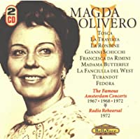 Magda Olivero: Famous Amsterdam Concerts