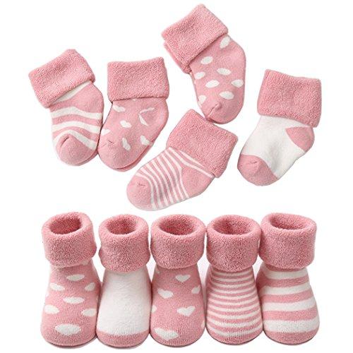 be2186263ac7b ベビー ソックス 靴下 保温 秋冬 ベビー キッズ 赤ちゃん 新生児 お祝い 出産 祝い ムール用 柔らかい 5