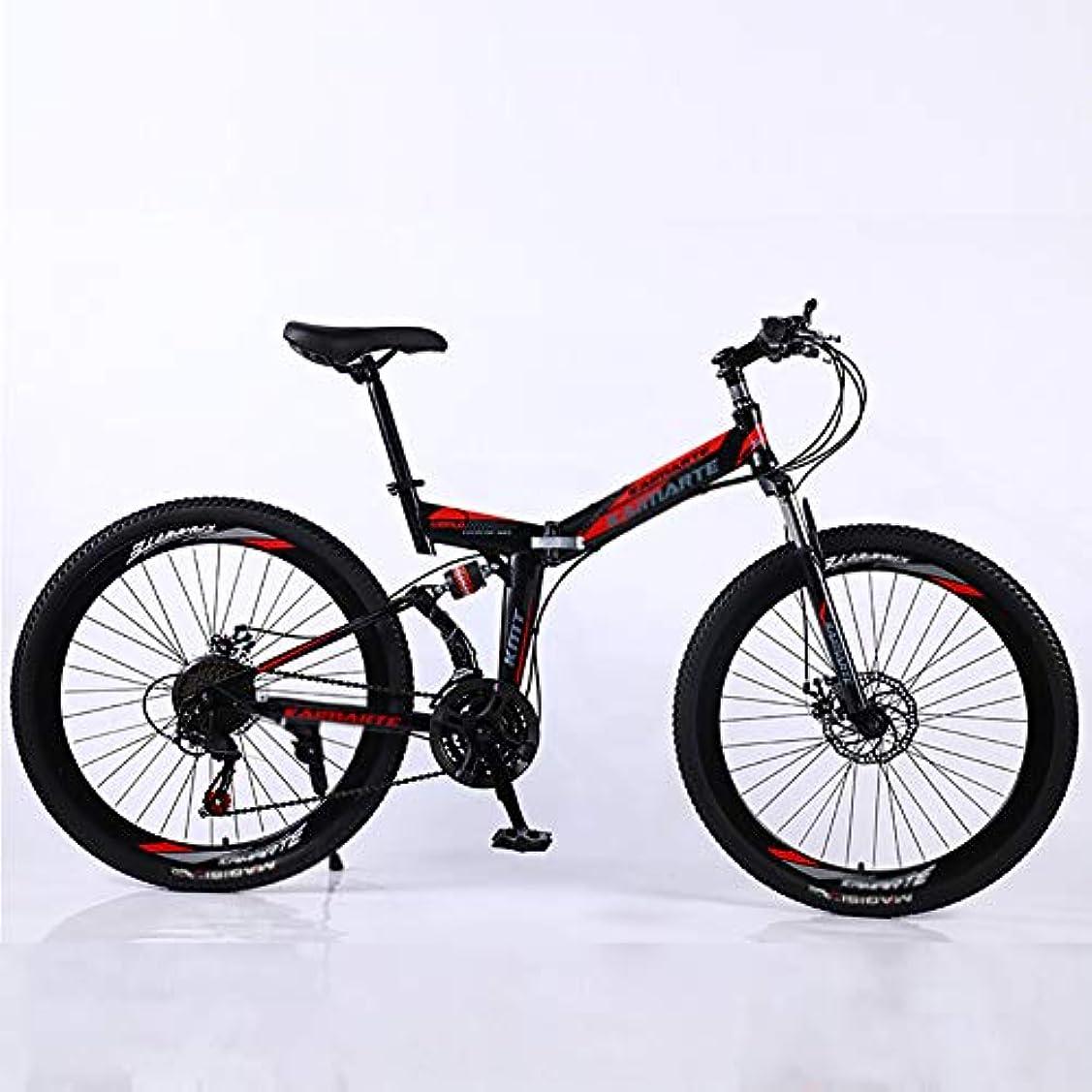 オッズピルファー過言軽量 自転車,26インチ デュアルディスクブレーキ 衝撃吸収 サイクル,アルミニウム合金 高炭素鋼 自転車