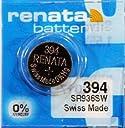 renata レナータ 394 1個 酸化銀ボタン電池(SR936SW)※スウォッチグループ/スイス製【並行輸入品】