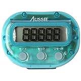 Aussie(オージー) なん歩計3262 ブルー 5F-3262