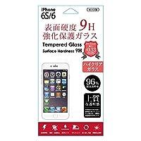 藤本電業 iPhone6s/6専用 強化保護ガラスフィルム 【9H】  クリア Gi6S-CL