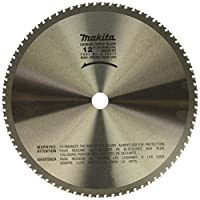 Makita A-90875 12-Inch 78 Tooth Dry Ferrous Metal Cutting Saw Blade with 1-Inch Arbor [並行輸入品]