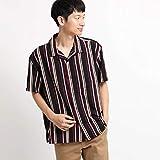 (ザ ショップ ティーケー) THE SHOP TK 【WEB限定】ビッグシルエットストライプ開襟シャツ/オープンカラーシャツ N4086605