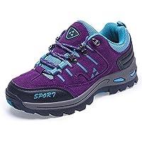 トレッキングシューズ メンズ レディース アウトドア 登山靴 ウォーキングシューズ 防透湿 防滑 通気 耐磨耗 衝撃吸収 男女兼用