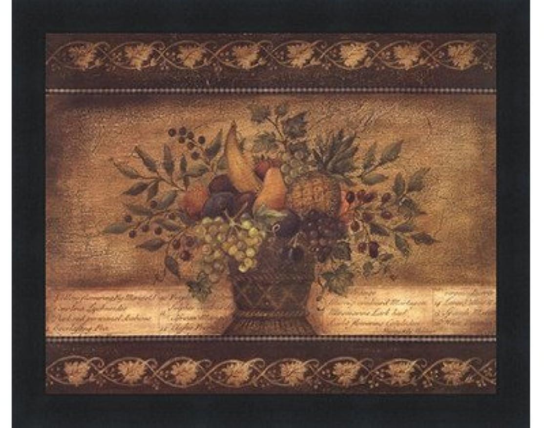 車ハング平らなOld World Abundance I by Kimberly Poloson – 10 x 8インチ – アートプリントポスター LE_112347-F101-10x8