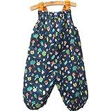 【marle pawda】子ども用 プレイウェア (お砂場着) 日本製 レインウェア にも 収納袋付き 【森の動物】ギフト お祝い 入園 公園などのお出かけに 90㎝