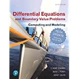 Differential Equations and Boundary Value Problems: Computing and Modeling (Tech Update) (5th Edition)