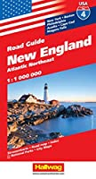 Hallwag USA New England Road Guide: Atlantic Northeast: New York, Philadelphia, Boston, Acadia, Cape Cod, Niagara Falls