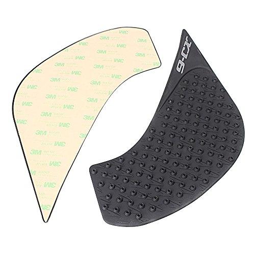 GZYF バイク用 ニーグリップパッド サイド タンクパッド 対応車種(ヤマハ XJ6ディバージョン 10-14年)