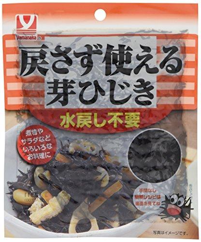 ヤマナカフーズ 戻さず使える芽ひじき 100g×5袋