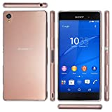 OVER's Xperia Z3 ケース / エクスペリア Z3 カバー 0.8mm TPU 4点セット ( Xperia カバー *1 & 液晶保護フィルム*1 & ミニクロス*1 & 埃取りセット*1 ) 365日保証付き