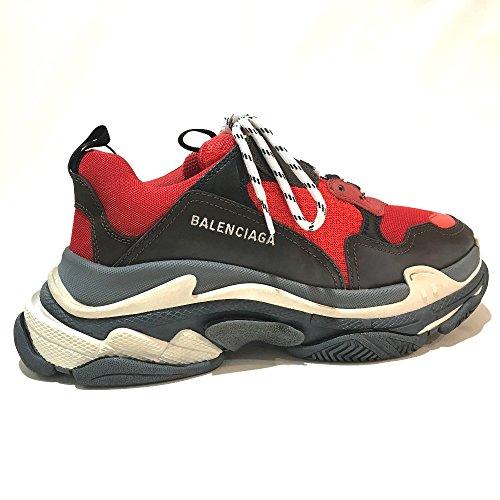 (バレンシアガ) BALENCIAGA 516440 Triple S shoes ユースド加工 メンズシューズ 靴 トリプルS トレーナー 2018ss スニーカー メンズ 未使用 中古