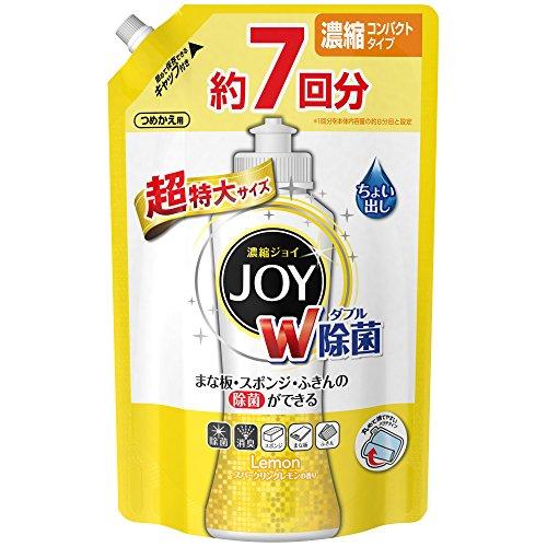 除菌ジョイ コンパクト 食器用洗剤 スパークリングレモンの香...