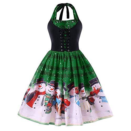 ワンピース クリスマス Plojuxi レディース ドレス ...