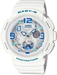 [カシオ] 腕時計 ベビージー BEACH TRAVELER BGA-190-7BJF ホワイト