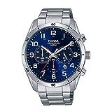 [セイコー パルサー]SEIKO PULSAR 100m防水 クロノグラフ メンズ 腕時計 PT3829 [並行輸入品]