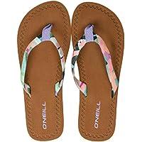 O Neill Fw Woven Strap Flip Flops Womens Sandals