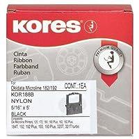 kor188b Industrias Koresリボン–ブラック–ドットマトリックス–1各