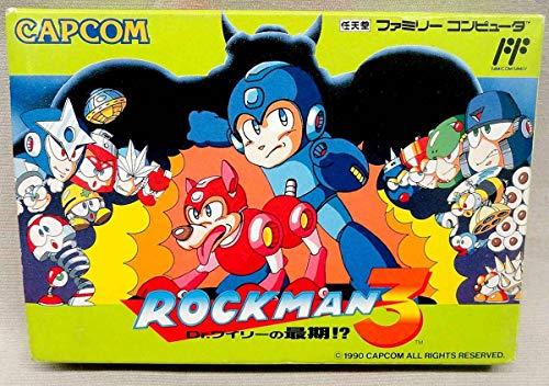 ロックマン3 Dr.ワイリーの最期!? 箱付 ファミコン ゲーム