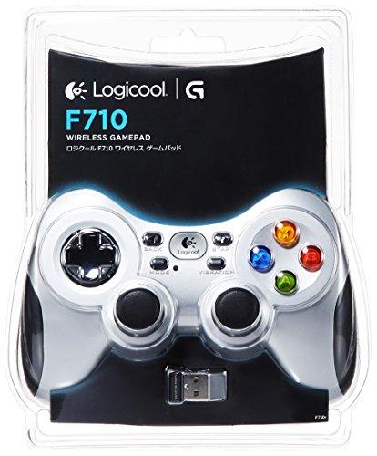 Logicool G ゲームパッド ワイヤレス F710r シルバー PC ゲームコントローラー  FF14推奨 Xinput F710 国内正規品 2年間メーカー保証