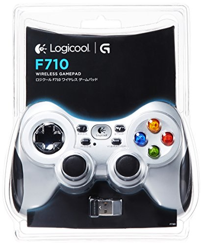 LOGICOOL ワイヤレスゲームパッド F710r