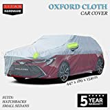 Oxford Cloth Car Cover Hatchback Lightweight Waterproof Dust Hail Universal S