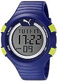 PUMA 時計 Pumaユニセックスpu911281004Faas 100Lライトブルーデジタル表示時計