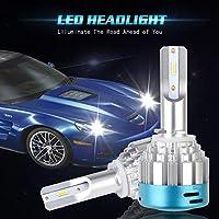 KaTur 880 881 LEDヘッドライトバルブ変換キットH27 527D CSP 28W 4000LM 6000KクールホワイトハイビームLED交換用バルブ - 2年保証