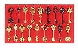 コスプレ 道具 ・ 小物 / FAIRY TAIL ( フェアリー テイル ) ルーシィ 星霊の鍵 18セット