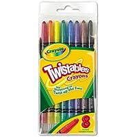 twistableクレヨン、8従来色/セット、として販売8各