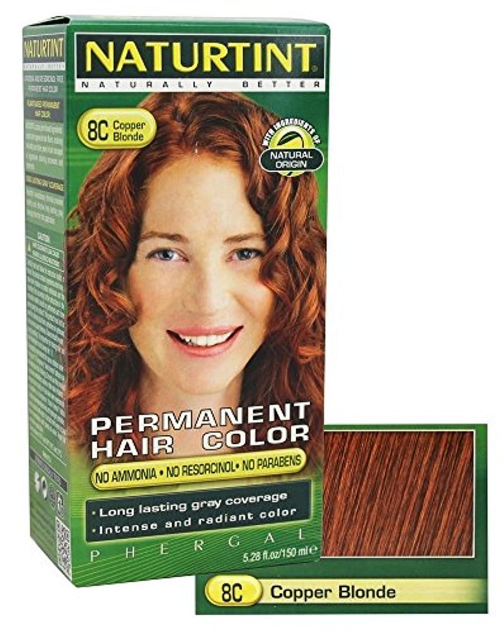 プロジェクター光沢メタンNaturtint Permanent Hair Colorant Copper Blonde 5.98 oz ?????