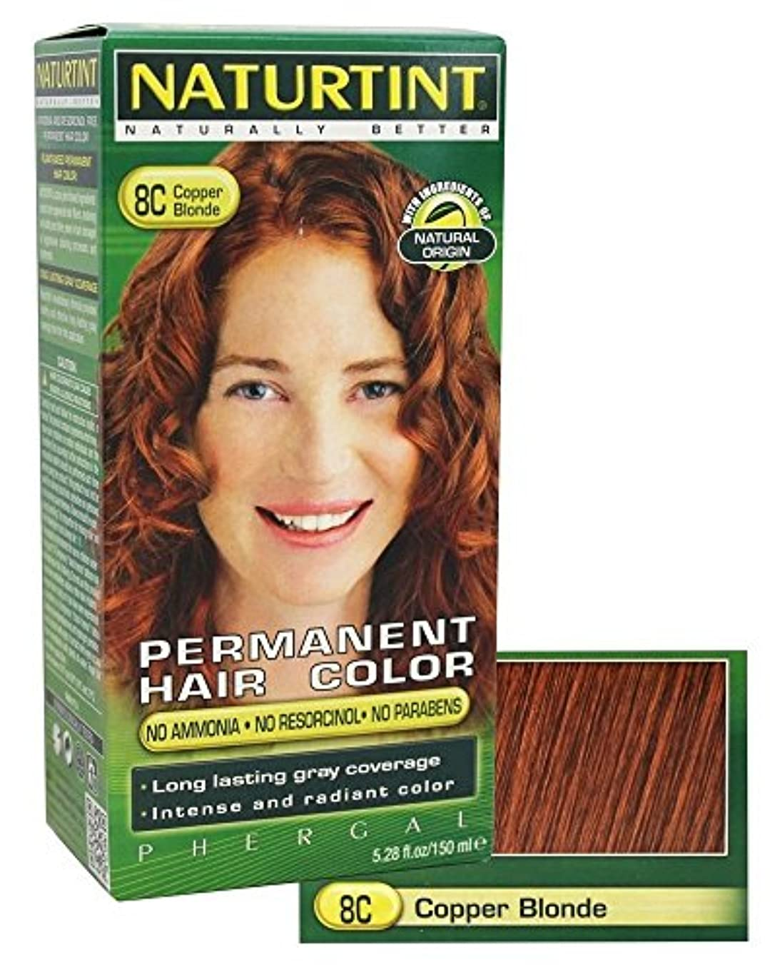 隔離食用普遍的なNaturtint Permanent Hair Colorant Copper Blonde 5.98 oz ?????