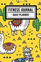 Fitness Journal Planner: Llama Fitness Journal / Daily Planner  | 100 Days | Undated
