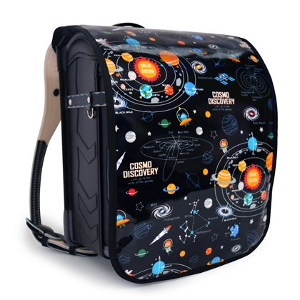 COLORFUL CANDY STYLE ランドセルカバー 太陽系惑星とコスモプラネタリウム ブラック N4140100