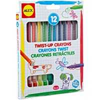 Alex Toys Artist Studio 12 Twistアップクレヨン