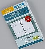 2015年1月始まり コンパクトサイズ オリジナル 1日1ページ・リフィル システム手帳リフィル 6