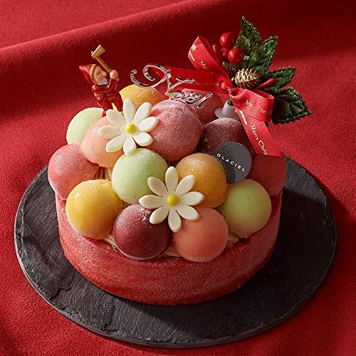 グラッシェル クリスマスアイスケーキ予約【お届け日12月22or23日】 Xmasバルーンドフリュイ