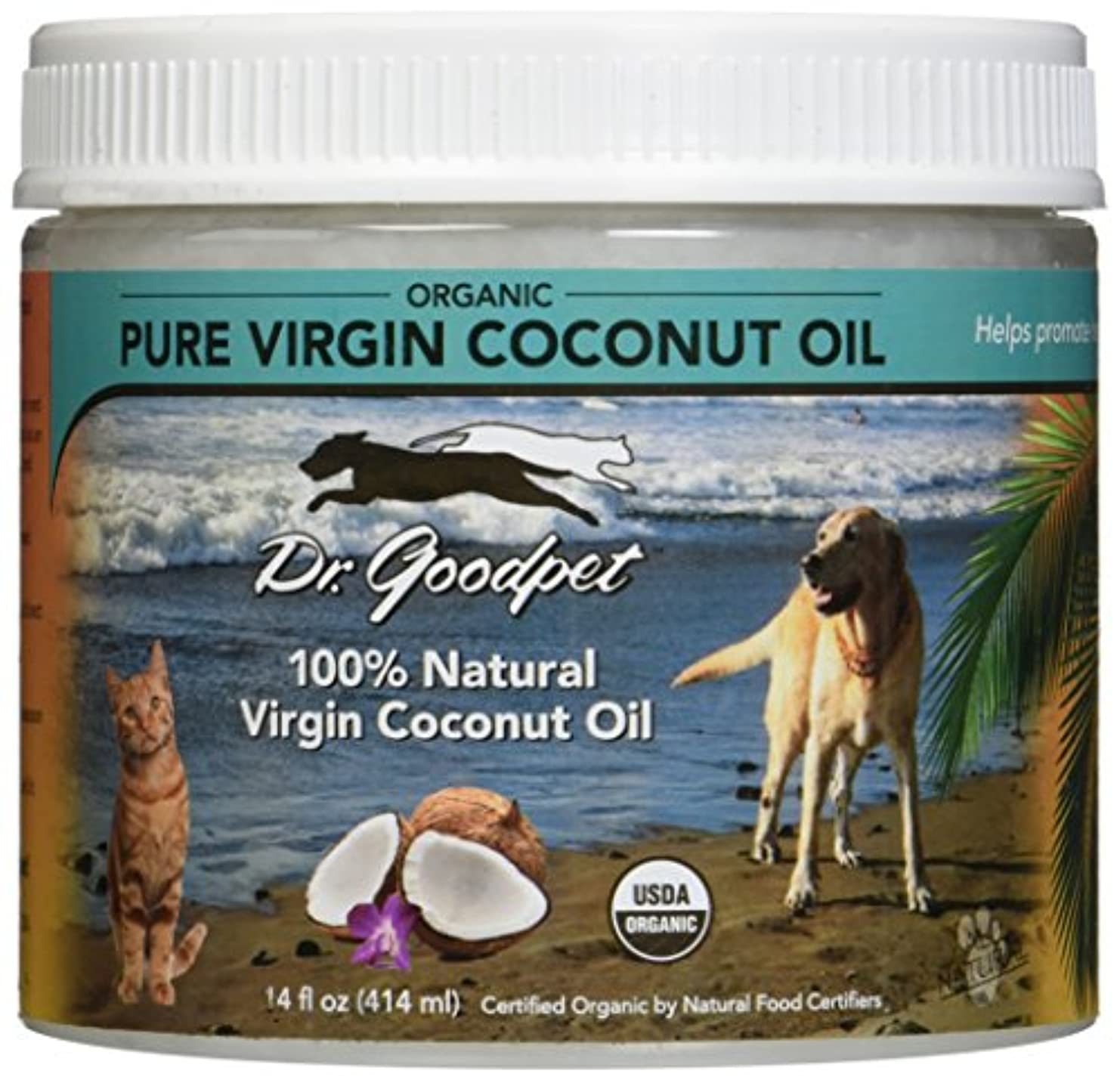 ジャケット島家禽Dr. Goodpet Organic Coconut Oil for Pets, Small by Dr. Goodpet