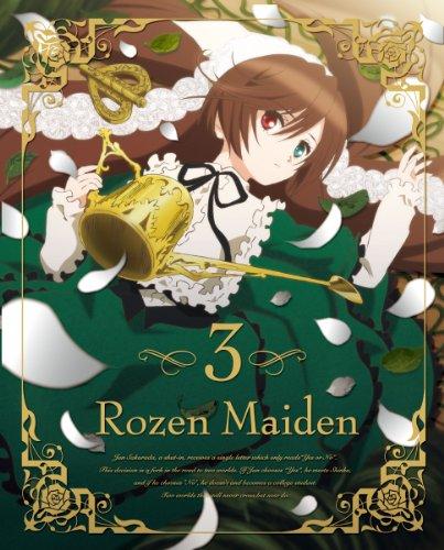 ローゼンメイデン 3 [2013年7月番組](初回特典:エンドカードピンナップ TALE2~5) [DVD]