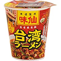 【販路限定品】日清 味仙 台湾ラーメン タテビッグ 109g×12個
