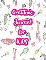"""Gratitude Journal for Kids: 5-Minute Daily Diary of Positivity with Cute Unicorn Matte Cover Design Notebook Prompts to Write In Per Day - Perfect Gift for Girls, Boys, Teens, Daughters, Sons and Women (Large 8.5"""" X 11"""" White Paper Interior)"""