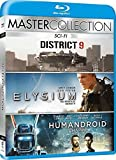 Sci-Fi Master Collection (3 Blu-Ray) - District 9 / Elysium / Chappie - Sharlto Copley (Actor), Matt Damon (Actor), Neill Blomkamp (Director)
