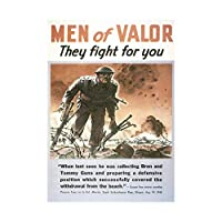 War WWII Canada Soldier Hero Gun Victoria Valor Wall Art Print 戦争第二次世界大戦カナダ兵士勇者壁