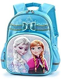 Disney(ディズニー)アナと雪の女王 エルサ アナ リュックサック ブルー キッズリュック 子供用リュック 幼児~小学校低学年向け [並行輸入品]