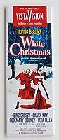 ホワイトクリスマス映画ポスター冷蔵庫マグネット( 1.5X 4.5インチ