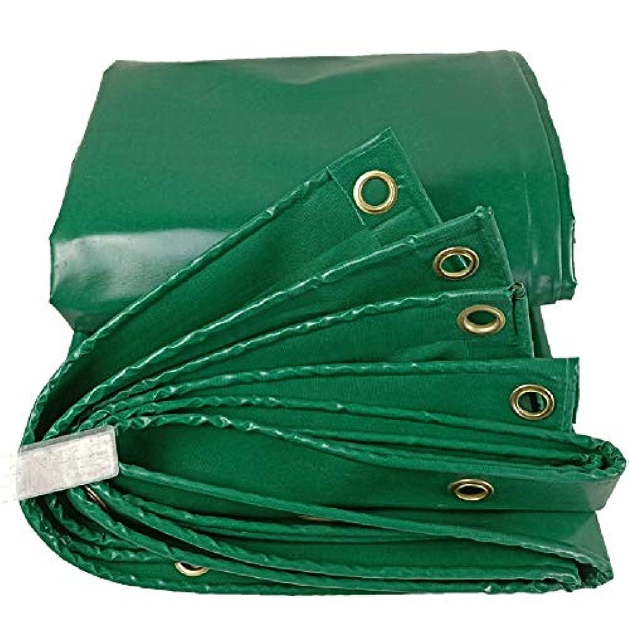 適用するええ愛国的なLIXIONG オーニング屋外の 日焼け止め 流した布 折りやすい 厚くする ホットメルト加工 防雨布、 17サイズ カスタマイズ可能 (色 : 緑, サイズ さいず : 1.9x2.85m)